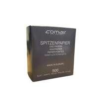 Popierėliai cheminiam sušukavimui Comair 70x50mm, 500vnt Art. Nr. 7000861