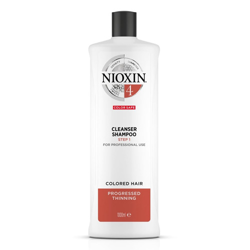 Plaukų ir galvos odos šampūnas Nioxin Cleanser SYS4 1000ml