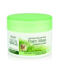 Kaukė plaukams su palmių aliejumi SERI Natural Line Revitalizing Hair Palm Mask 300 ml-0