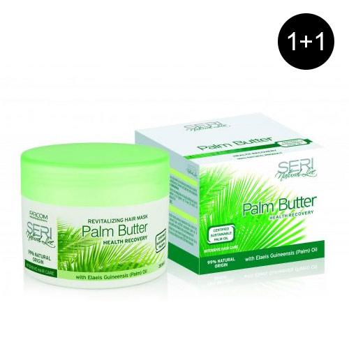 Sviestas plaukams su palmių aliejumi SERI Natural Line Palm Butter 250 ml