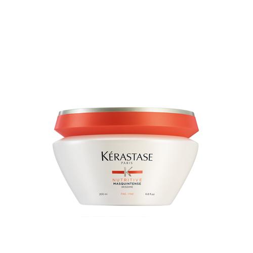 Kaukė sausiems ploniems plaukams KERASTASE Nutritive Masquintense Irisome Fine Hair Mask 200 ml