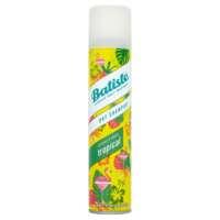 Sausas šampūnas plaukams BATISTE Coconut & exotic Tropical dry shampoo 200ml