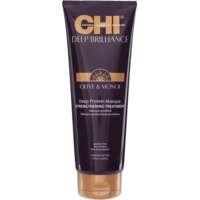 Stiprinamoji plaukų kaukė CHI Deep Brilliance Olive&Monoi Deep Protein Masque 237ml