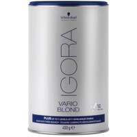 Plaukų šviesinimo milteliai Schwarzkopf Igora Vario Blond Plus (mėlyni) 450 g
