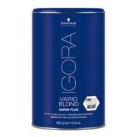 Plaukų šviesinimo milteliai Schwarzkopf Igora Vario Blond Super Plus 450g