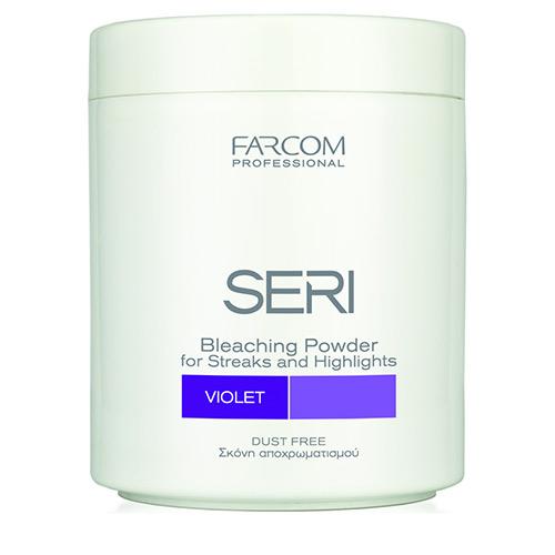 Plaukų šviesinimo milteliai SERI Maxitone Bleaching Powder (violetiniai) 500 g