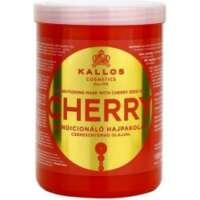 Kondicionuojanti pažeistų plaukų kaukė Kallos Conditioning Mask With Cherry Seed Oil 1000 ml