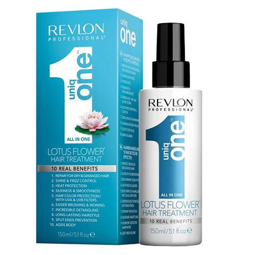 Purškiama plaukų kaukė Revlon Uniq One Flor De Loto 150ml