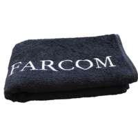 Juodas rankšluostis Farcom Seri 50x90 cm