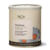 Vaškas su azulenu jautriai odai indelyje Rica Azulene Liposoluble Wax 800ml