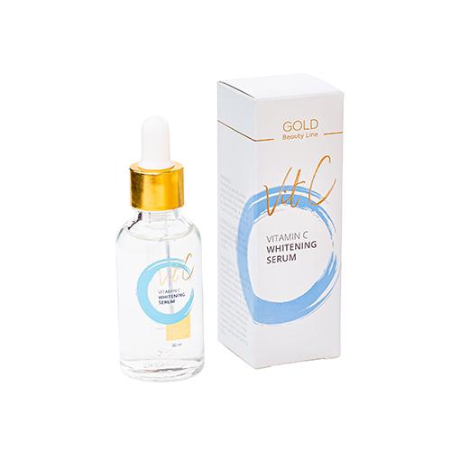Vitamino C serumas Gold Beauty Line Vitamin C Whitening Serum 30ml