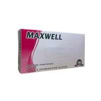Rožinės nitrilo pirštinės be pudros Maxwell Power Free-Finger Textured Pink Gloves M 100vnt.