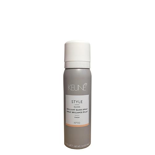 Purškiklis blizgiam efektui Keune Style Brilliant Gloss 75ml