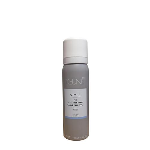Stiprios fiksacijos plaukų lakas Keune Style Freestyle Hair Spray 75ml