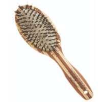 Plaukų šepetys Olivia Garden Paddle Combo Bamboo Brush P6