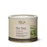 Vaškas su alijošiumi jautriai odai indelyje Rica Aloe Vera Liposoluble Wax 400ml