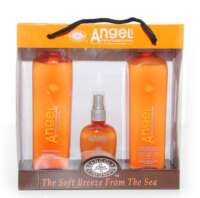Rinkinys sausiems plaukams Angel Suit