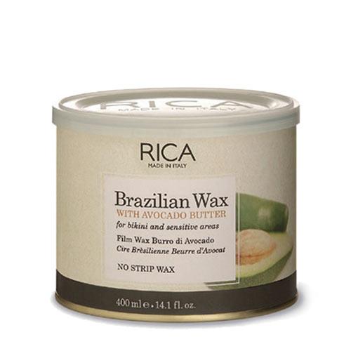 Vaškas su avokado ekstraktu indelyje jautriai odai Rica Brazilian Wax 400ml