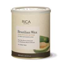 Vaškas su avokado ekstraktu indelyje jautriai odai Rica Brazilian Wax 800ml