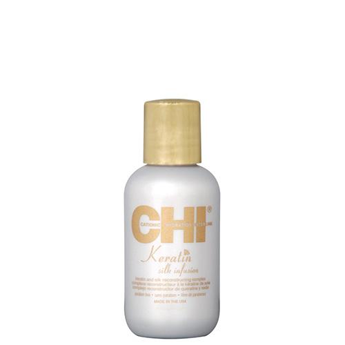 Šilkas plaukams CHI Keratin Silk Infusion 15 ml