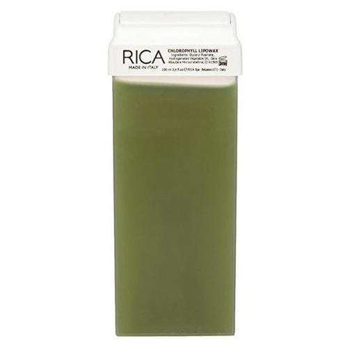 Vaškas su chlorofilu kasetėje Rica Chlorophyll Lipowax 100ml