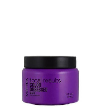 Plaukų spalvą apsauganti kaukė Matrix Total Results Color Obsessed Intense Treatment 150 ml