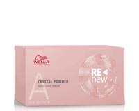 Švelnūs plaukų spalvos šalinimo milteliai Wella ReNew Crystal Powder 9 g x 5 vnt.