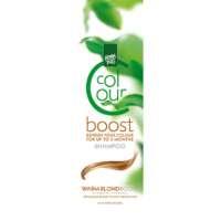 Dažantis plaukus šampūnas Henna Plus Colour Boost Warm Blond 200ml