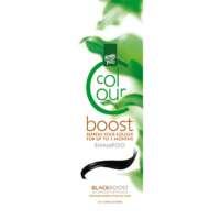 Dažantis plaukų šampūnas Henna Plus Colour Boost Black 200ml
