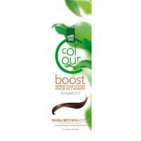 Dažantis plaukų šampūnas Henna Plus Colour Boost Warm Brown 200ml