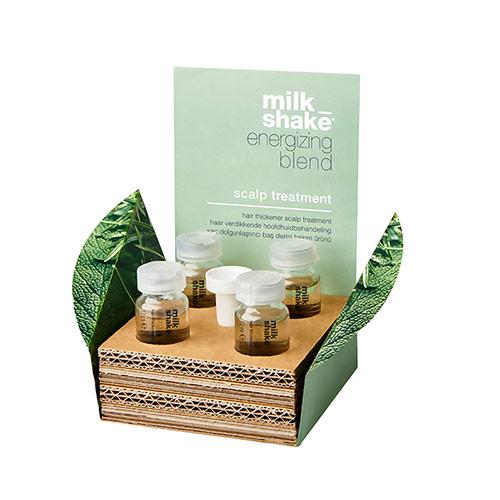 Plaukus tankinanti priemonė Milk Shake Energizing Blend Treatment 4x12ml
