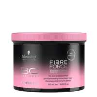 Saitus kuriantis kremas pažeistiems ir nualintiems plaukams Schwarzkopf BC Bonacure Hairtherapy Fibre Force Bonding Cream 500 ml