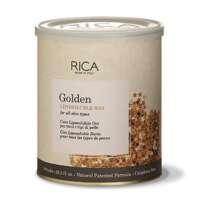 Vaškas su aukso dalelėmis visų tipų odai Rica Golden Liposoluble Wax 800ml