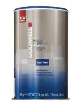 Nedulkančios plaukų šviesinimo granulės GOLDWELL Oxycur Platin Lightening Granules Ultra 500 g