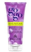 Kaukė sausiems, trapiems plaukams Kallos GOGO Repair 200 ml