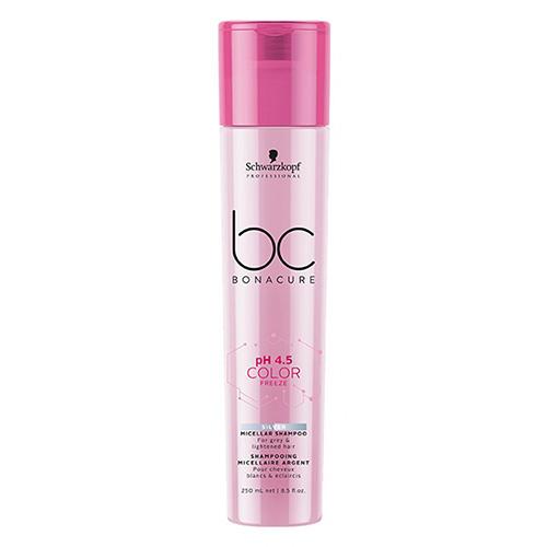 Šviesių plaukų šampūnas Schwarzkopf Professional BC Color Freeze Silver 250ml