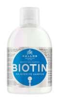 Šampūnas skatinantis plaukų augimą Kallos KJMN Biotin 1000 ml