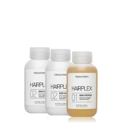 Palaikymo sistema techninių procedūrų metu Farcom Bioproten HAIRPLEX 3 X 100 ml