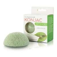 Kempinėlė veidui valyti su žaliąja arbata Konjac Green Tea Sponge