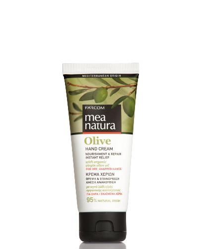 Rankų kremas labai sausai odai FARCOM Mea Natura Olive Hand Cream 100 ml