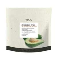 Braziliškas vaškas su avokado sviestu diskeliais Rica Brazilian Wax 500g