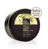 Maitinanti plaukų kaukė su alyvuogių aliejumi Farcom Mea Natura Olive Hair Mask Intensive Nourishment&Shine 250 ml