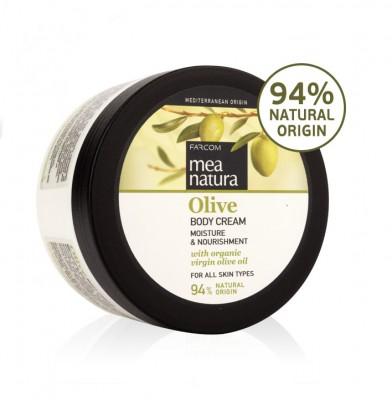 Kūno kremas su alyvuogių aliejumi Farcom Mea Natura Olive Body Cream 250ml