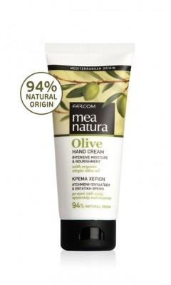 Drėkinamasis rankų kremas su alyvuogių aliejumi Farcom Mea Natura Olive Hand Cream 100ml