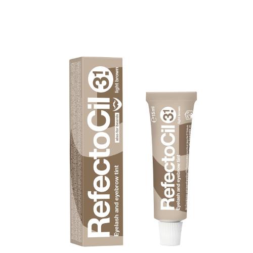 Antakių dažai RefectoCil Nr.3.1 šviesiai rudi 15 ml Art. Nr. 3080173