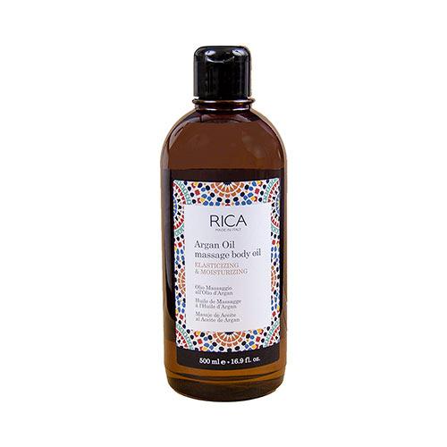 Masažinis kūno aliejus Rica Argan Oil Massage Body Oil 500ml