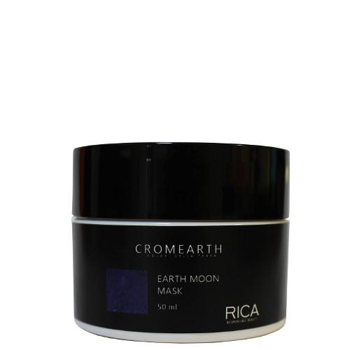 Geltonus atspalvius neutralizuojanti plaukų kaukė RICA Cromearth I Colordi Della Terra Earth Moon 50 ml