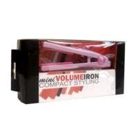 Plaukų žnyplės apimčiai Mini Volume Iron Pink