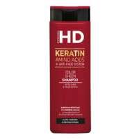 Dažytų plaukų šampūnas Farcom HD Keratin Amino Acids + Anti - Fade System 400ml