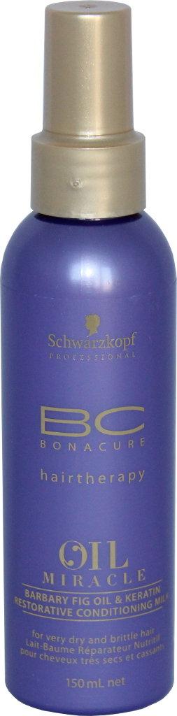 Atstatomasis pienelis Schwarzkopf BC Oil Miracle Barbary Fig Oil & Keratin Restorative conditioning milk 150 ml